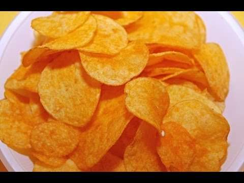 SHOCK !!! How to make useful and very tasty chips for 20 minutes!